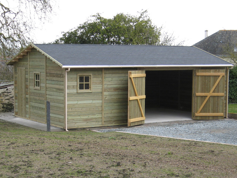 choisir son abri de jardin abri la romagne. Black Bedroom Furniture Sets. Home Design Ideas