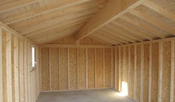 Abri de jardin PVC vinyle : Abri La Romagne - Fabricant abri de jardin