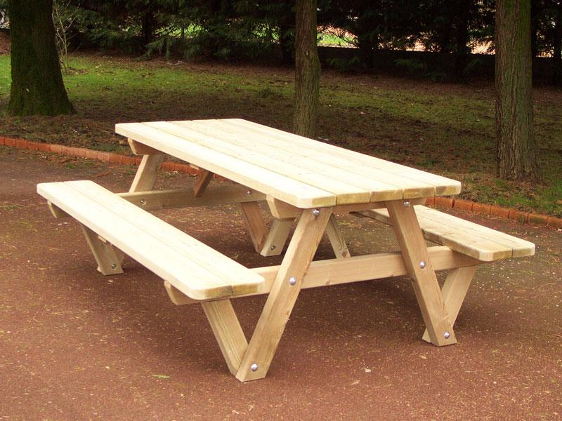 Salon de jardin constructions bois abri la romagne - Mobilier de jardin bois ...