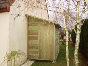 abri bois gamme hirondelle abri de jardins en bois abri la romagne. Black Bedroom Furniture Sets. Home Design Ideas