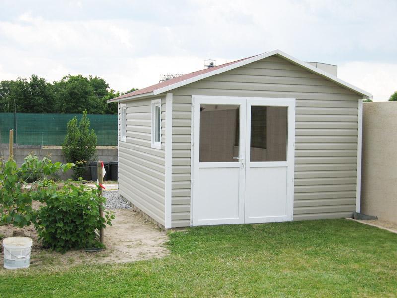 nouveau produit 41569 2353e Abri de jardin PVC vinyle : Abri La Romagne - Fabricant abri ...