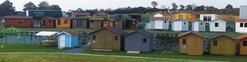 Abri La Romagne : Fabricant d\'abri de jardin en bois sur mesure