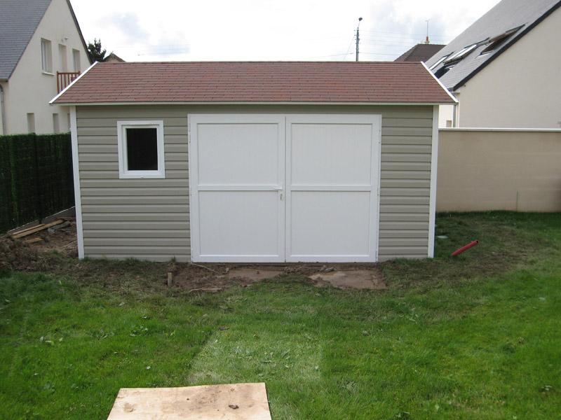 Garage Fermé en PVC Vinyle - Abri La Romagne Fabricant de garage