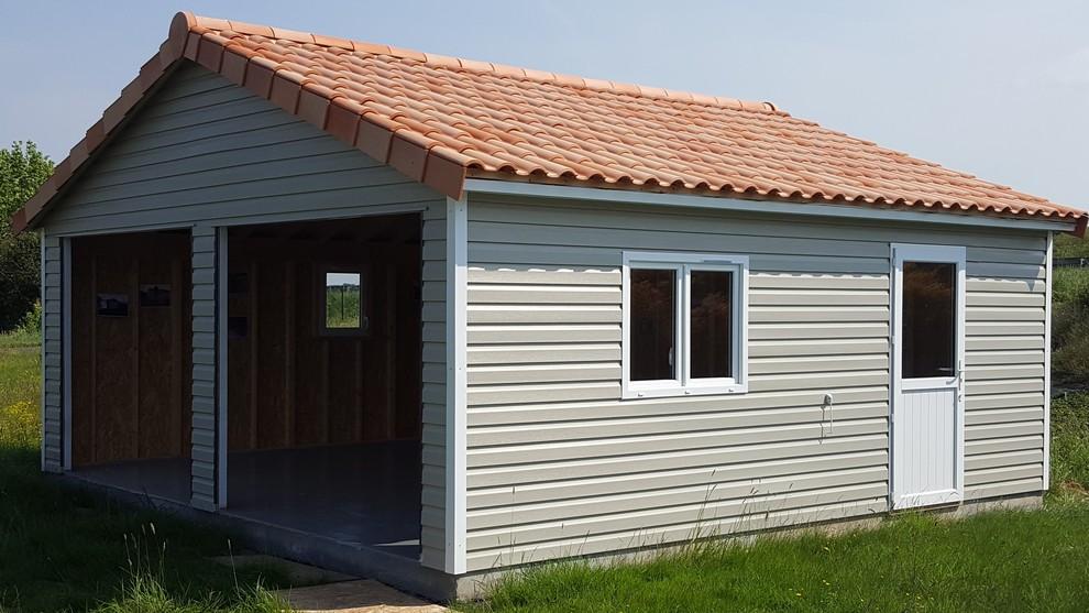 Garage Ferme En Pvc Vinyle Abri La Romagne Fabricant De Garage